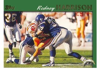 1997 Topps #87 Rodney Harrison Front