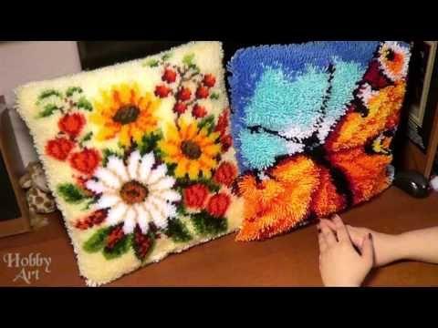 Подушки в ковровой технике. Вервако VS  Китай.