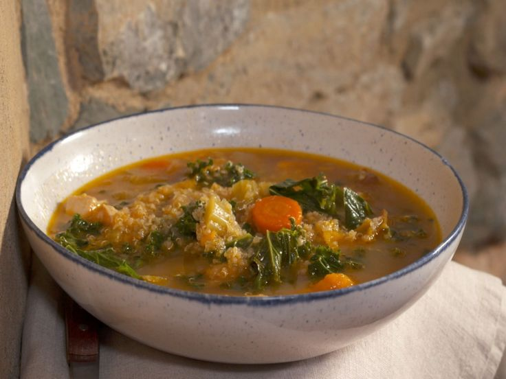 Chicken Veggie Soup recipe from Nancy Fuller via Food Network