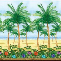 Palm Tree Scene Setter Roll | Windy City Novelties
