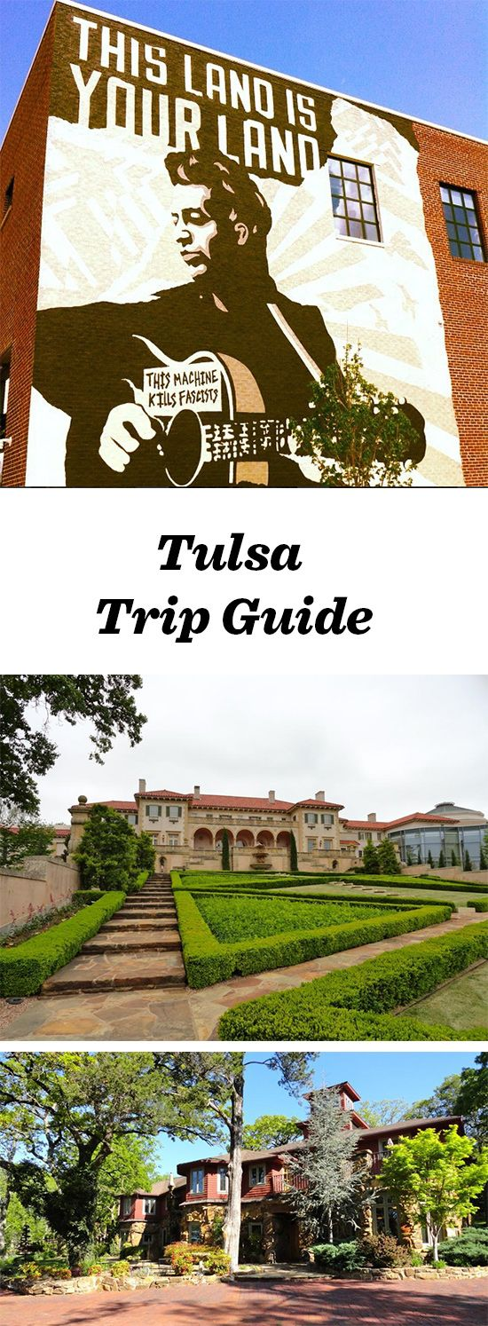 Tulsa—home to a legendary folk singer—celebrates classic Americana. Things to do in Tulsa include visiting The Gilcrease Museum, Philbrook Museum of Art and The Woody Guthrie Center: http://www.midwestliving.com/travel/around-the-region/tulsa-trip-guide