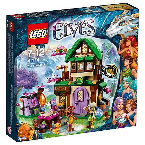 Buy LEGO Elves 41174 The Starlight Inn Online at johnlewis.com