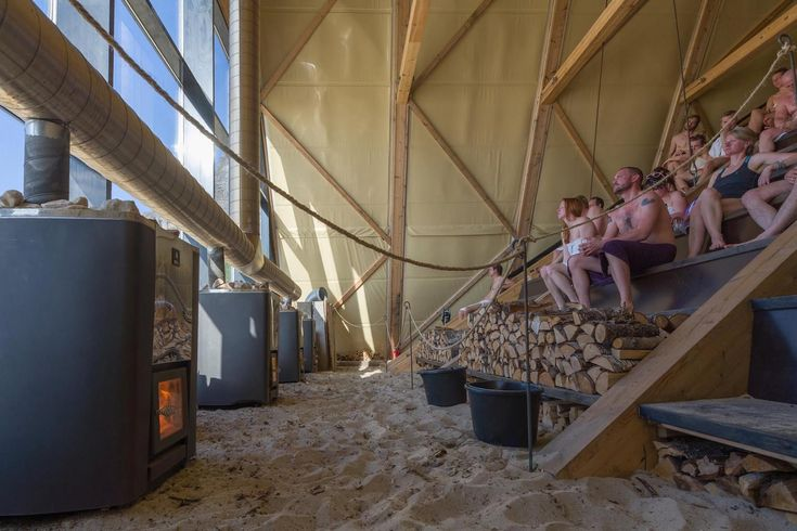 World's largest sauna by SALT