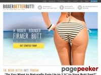 The Bigger Butt Workout Program - How to Get Bigger Butts & Natural Bigger butts
