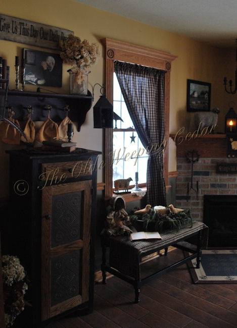 Primitive Country Living Room Decorating Ideas: 1000+ Images About Primitive Home Ideas On Pinterest