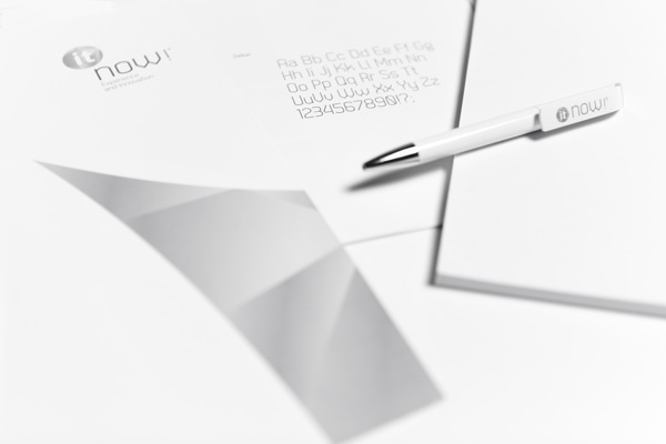 Itnow! by Blou and Rooi , via Behance