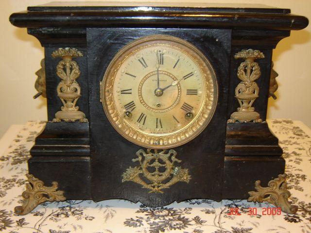 Antique clocks - SethThomas_Frontside