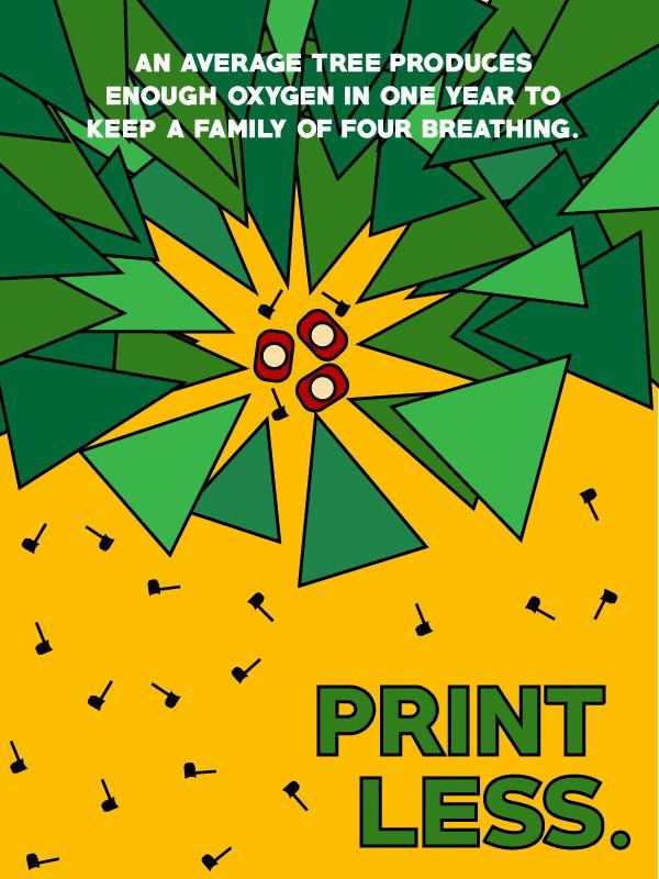 Saving Resources Static Poster - Illustreco