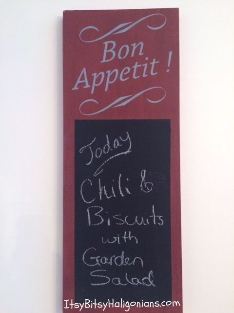Today's Special is...