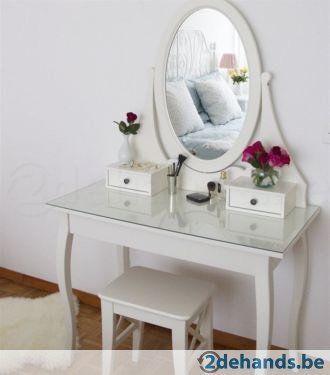 Te Koop Kaptafel.Kaptafel Make Up Tafel Te Koop All Home Bedroom Makeup Desk