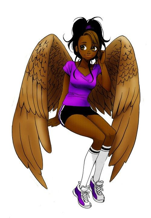 I'm Hope, I'm some kind of angel. I'm super athletic and I love to fly on cold nights.