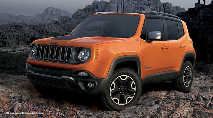 Jeep Renegade - New SUVs For 2015