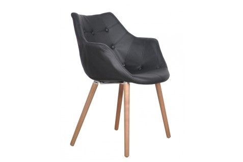 Eleven Black Classic Chair by Zuiver // Product available on HomeLovers.pl