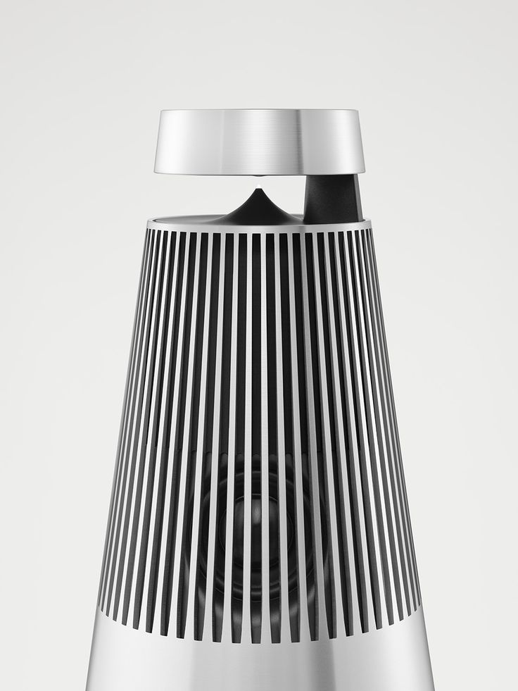 Aluminium lamellas on BeoSound 2.