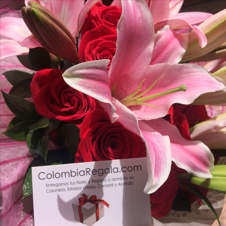 Bouquet Manhattan https://www.colombiaregala.com/bouquet-de-rosas-con-lirios-a-colombia.html
