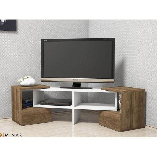 Banc Tv Pin Massif Authentic Style Blanc La Redoute Interieurs La Redoute Pin Massif Banc Tv Meuble Tv Hifi