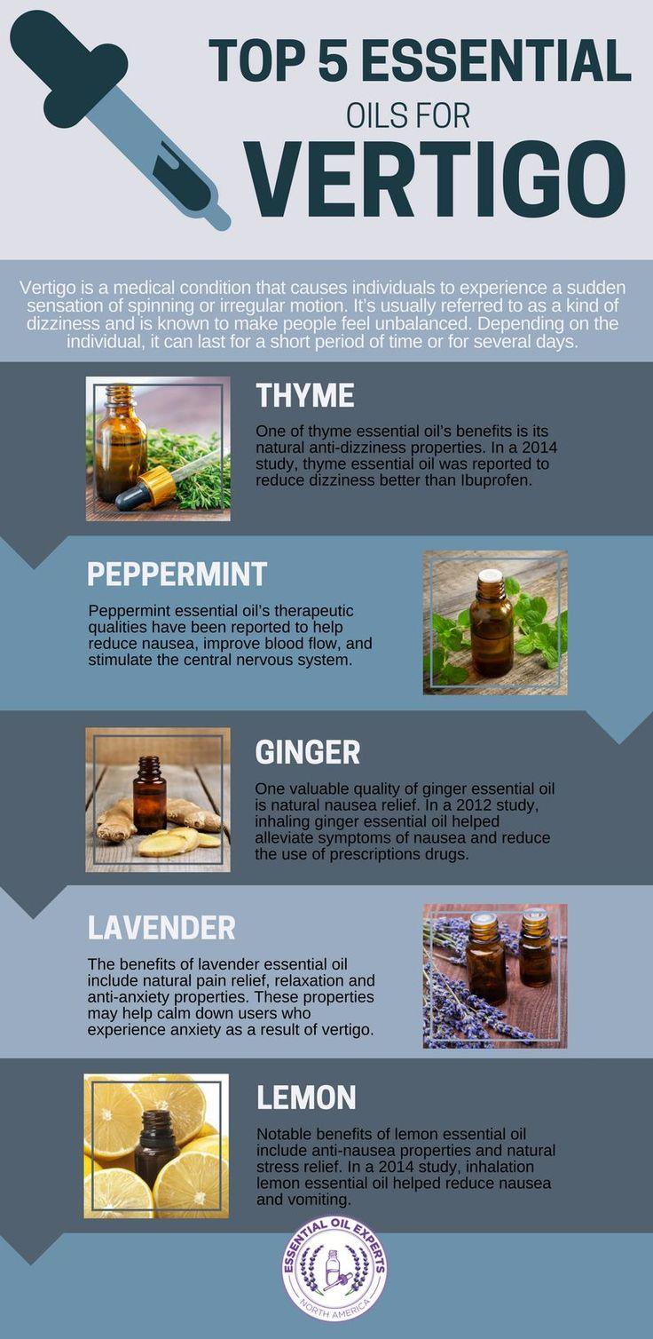 Top 5 Essential Oils for Vertigo & Dizziness