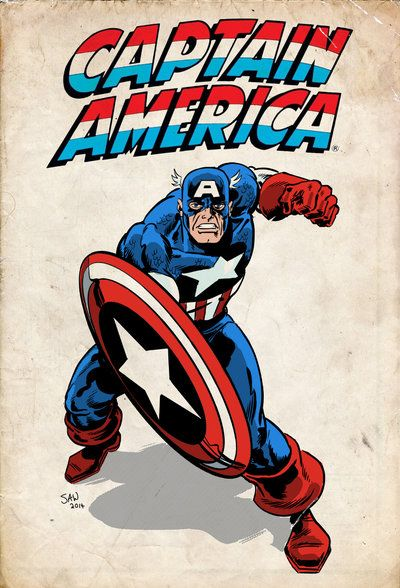 Captain America - Simon Williams