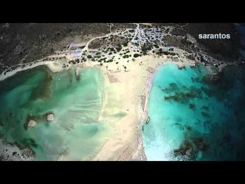 Elafonisi Crete from above!! | Smile Greek