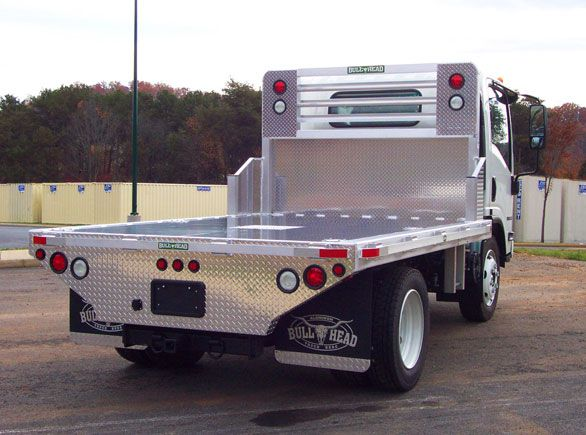 Aluminum Truck Beds by Bull Head - Isuzu Trucks - The Aluminum Truck Bed - Beefed Up - A Cut Above the Rest