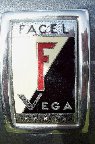 104 Facel Vega Badge