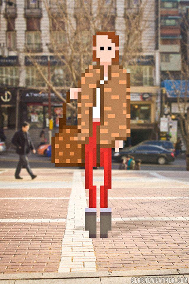 pixel art 1970s