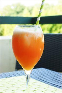 Cocktail original de l'été (Melon/Tariquet)