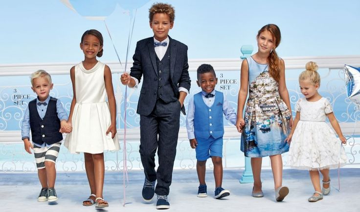 Kids summer formal from Next