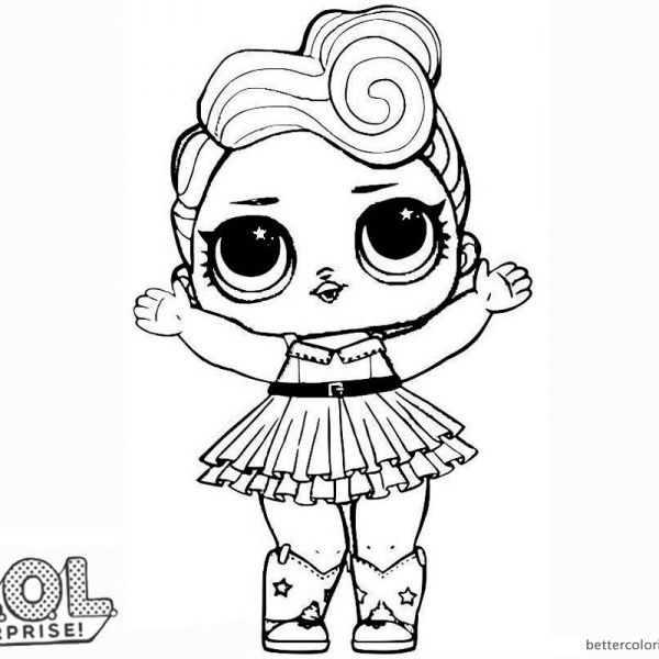 Lol Surprise Doll Coloring Pages Luxe Unicorn Coloring Pages Animal Coloring Pages Princess Coloring Pages