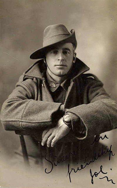 Aussie soldier, WWI