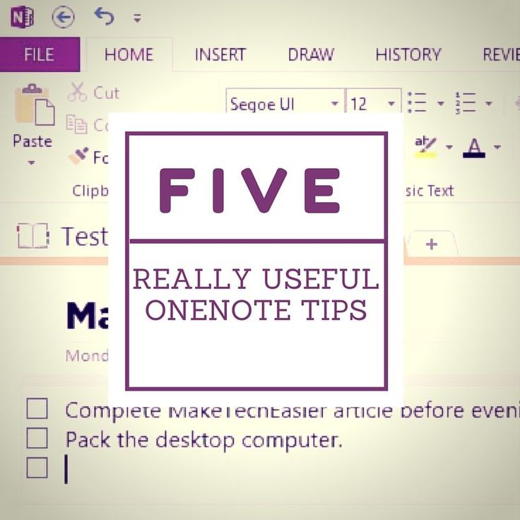 5 Really Useful OneNote Tips to Get the Most Out of this useful tool #MSFTEDU
