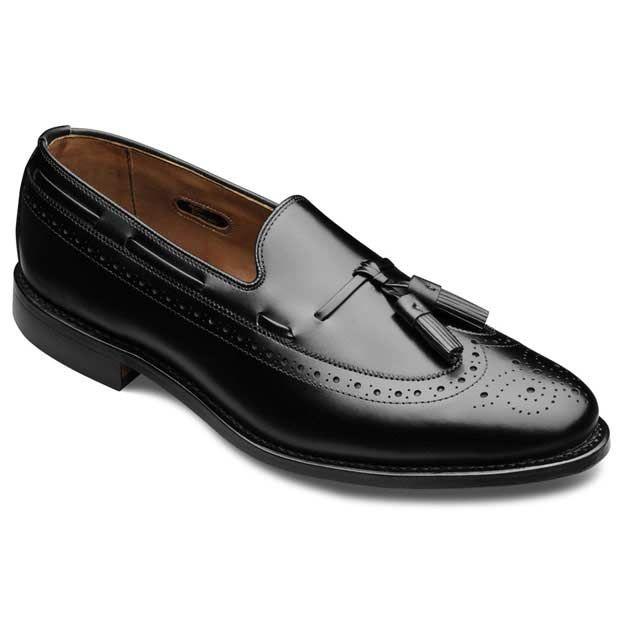 Manchester - Wingtip Tassel Slip-on Mens Dress Shoes by Allen Edmonds