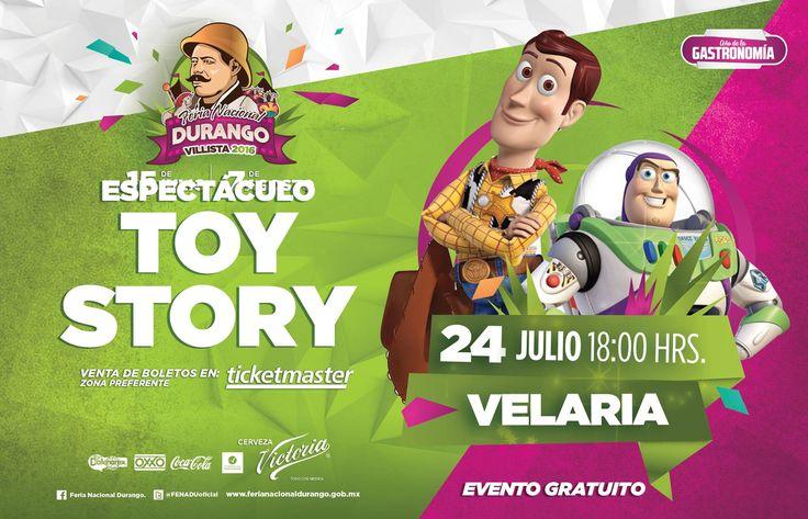 Para nuestros pequeños El Espectáculo Toy Story en #FENADU2016, da clic y conoce todos los espectaculos de la #FENADU2016
