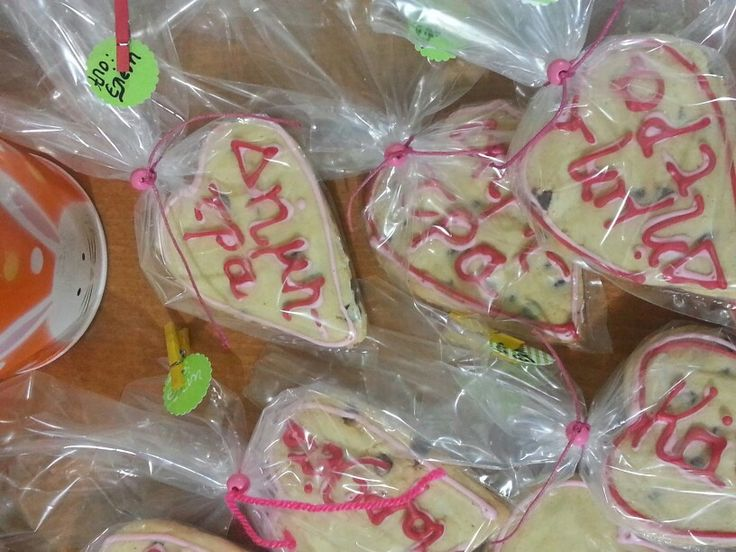 Personalized cookies treats for my daughter's classmates.