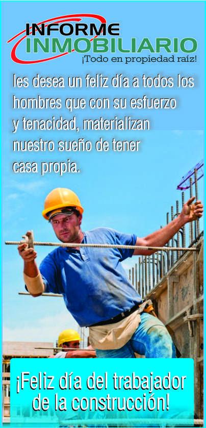 ¡Feliz día del trabajador de construcción!