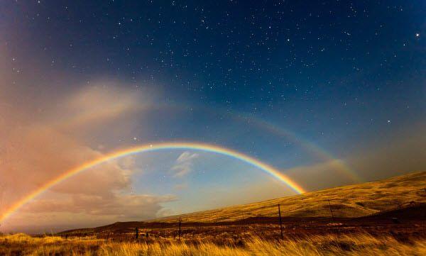 Superb!  #moonbow: Moonbows Lunar, Hawaii Moonbow, Double Moonbow, Moonbow Photography, Rainbows, Kamuela Hawaii, Moonbows Amazingly Beautiful