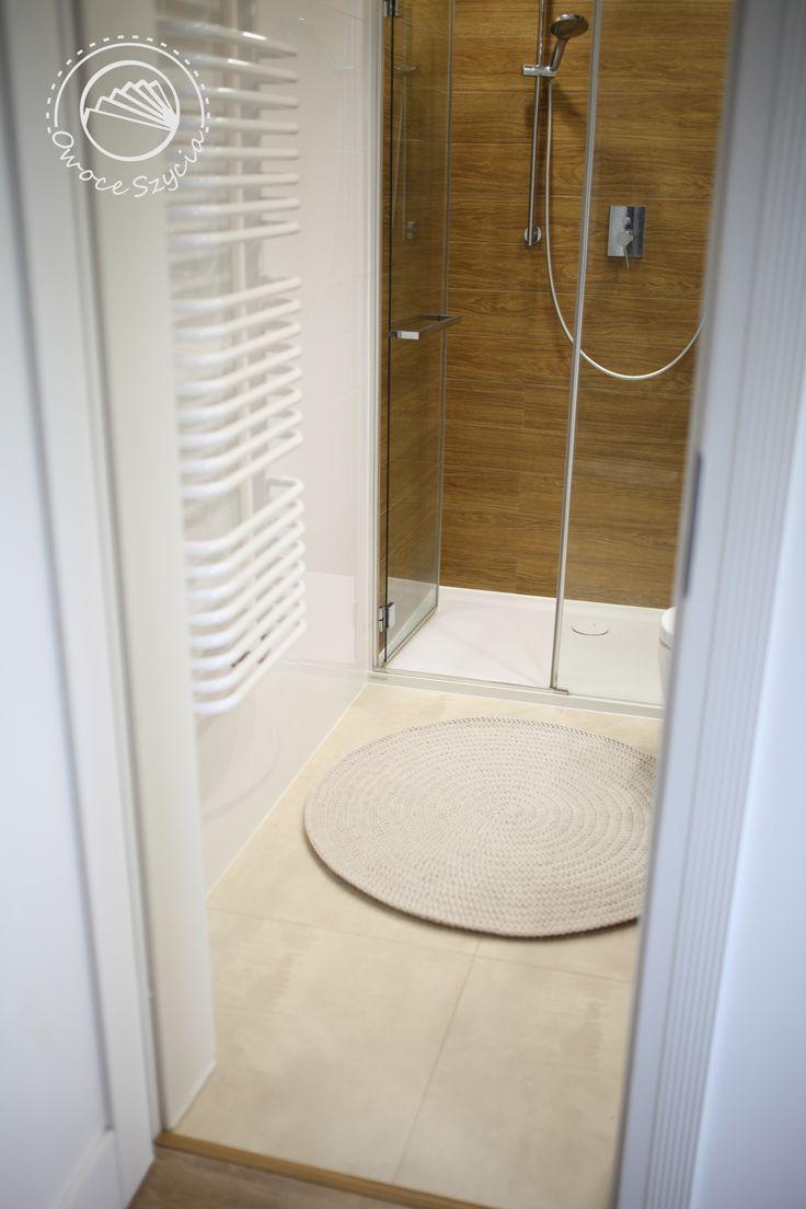 #owoceszycia crochet rug, bathroom