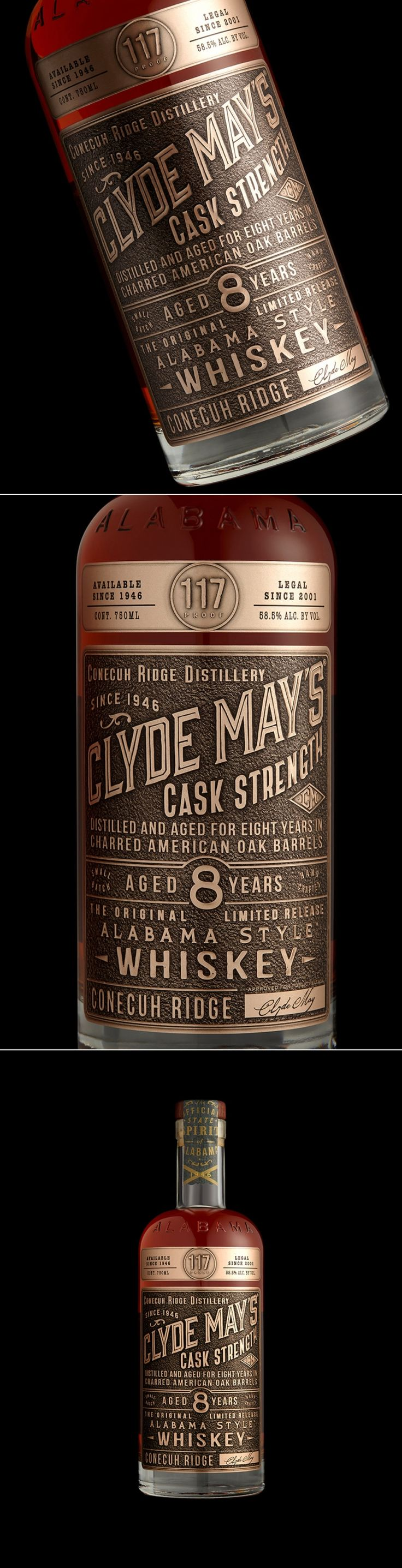 That's Right—this Intense Whiskey is 117 Proof — The Dieline | Packaging & Branding Design & Innovation News