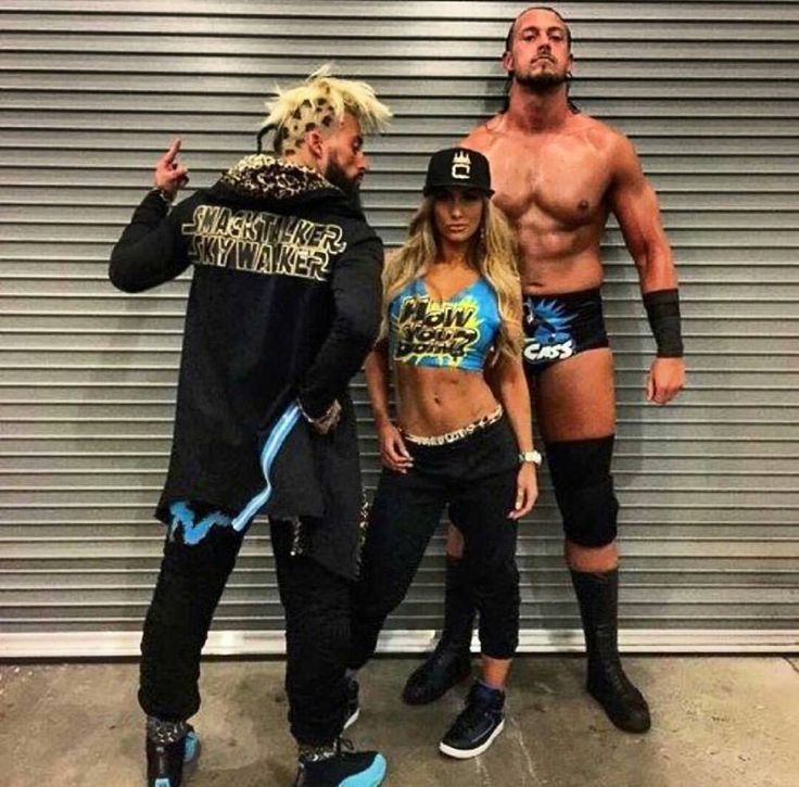 Enzo Amore, Carmella and Big Cass | ENZO | Pinterest