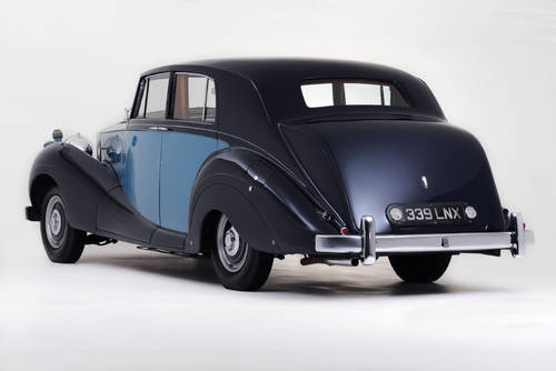 George Formby's Rolls-Royce Silver Wraith (1950)