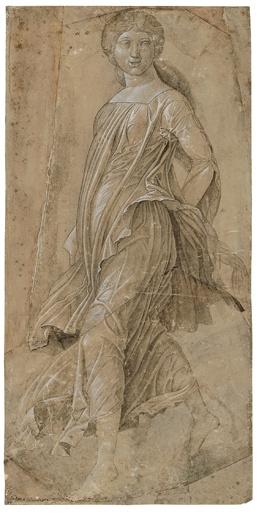 'Dancing Muse', ca.1495 - Andrea Mantegna (1431-1506)