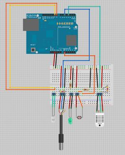 The Arduino Environmental DAQ tracks air temperature, relative humidity and light in aquaponic and hydroponic grow beds.