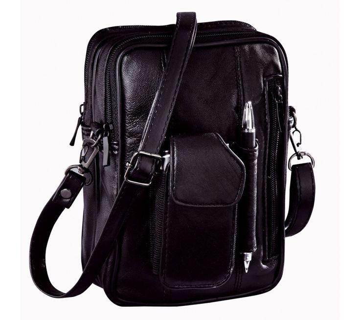 Kožená taška s množstvom vreciek | blancheporte.sk #blancheporte #blancheporteSK #blancheporte_sk #vianoce #darcek #premuzov #moda