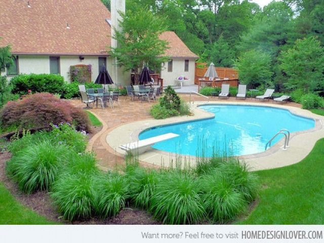 Easy Landscaping around Pools | Landscaping Around Pools (Photos 15)
