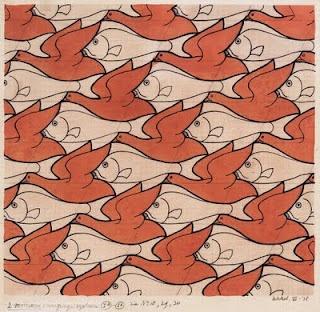 ESCHER: Maurit Corn, Mcescher, Corn Escher, Art Escher, Escher 18981972, 13Birdfishjpg 1020996, Mc Escher, M C Escher, Birds Fish