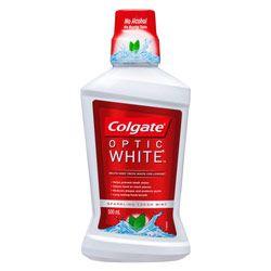 Buy Colgate Optic White Sparkling Fresh Mint Mouthwash 500 ml Online | Priceline