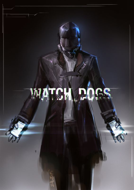 Watch Dogs by kyzylhum.deviantart.com on @deviantART I am so excited for Watch Dogs. I'm going to play this game so much!! Unfortunately, my brother has alerted me that getting a PS4 won't happen until I'm back at college but still! Some day! - kids watches, rose gold mens watch, top watches for men *ad