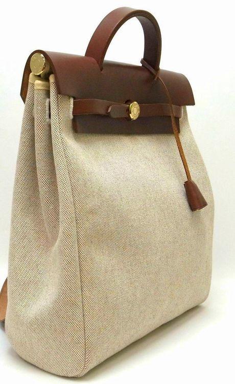 Bolsos - Bags - Hermès burlap