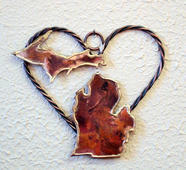 Made from Copper ~ From Copper Harbor, Michigan