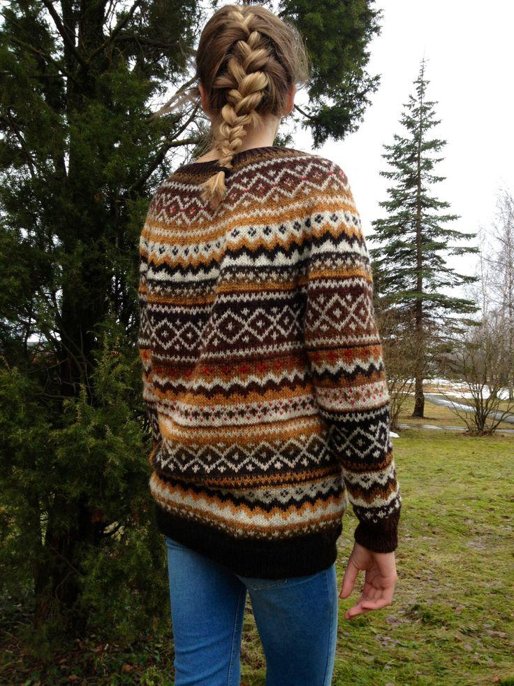 57 best My knittings images on Pinterest | Fair isles, Fair isle ...